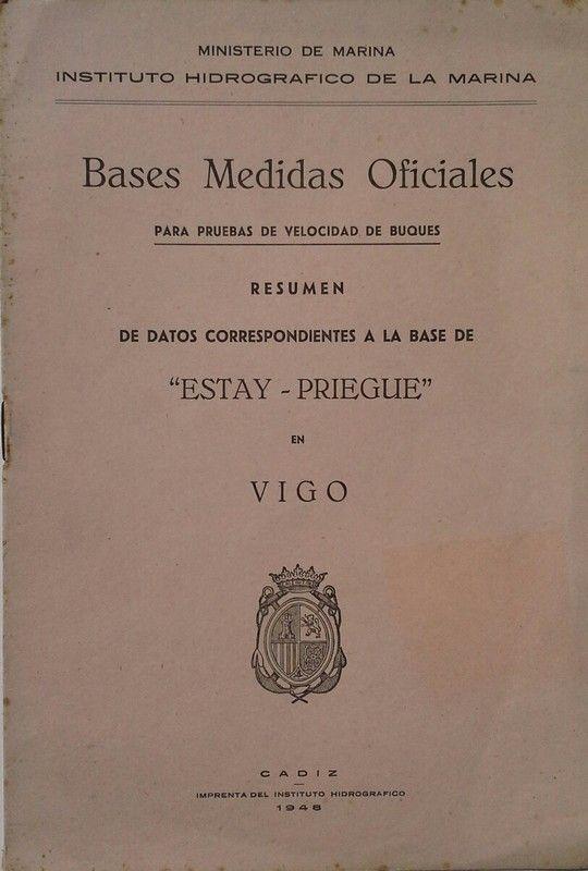 BASES MEDIDAS OFICIALES PARA PRUEBAS DE VELOCIDAD DE BUQUES
