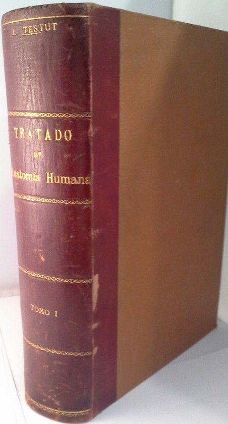 TRATADO DE ANATOMIA HUMANA  TOMO 1