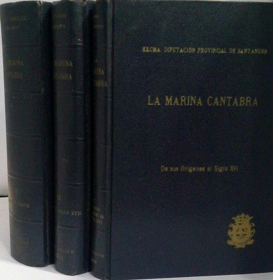 LA MARINA CANTABRA  3 TOMOS