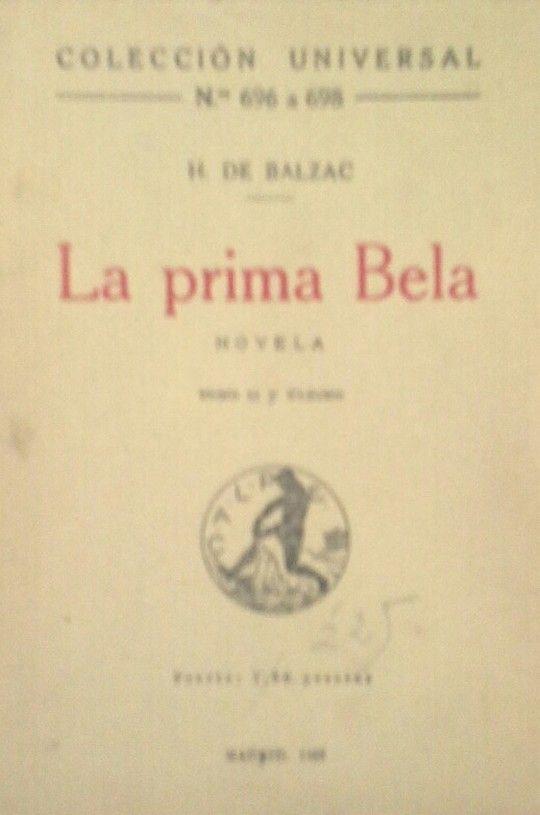 LA PRIMA BELA. TOMO II Y ÚLTIMO