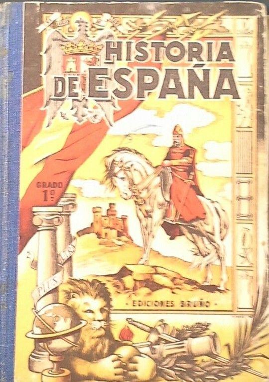 HISTORIA DE ESPAÑA PRIMER GRADO