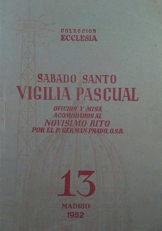 SABADO SANTO VIGILIA PASCUAL