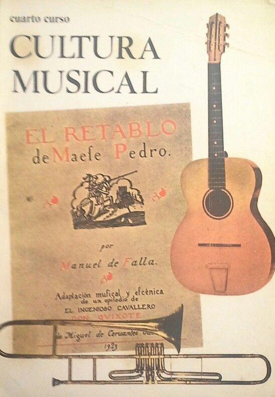 CULTURA MUSICAL - CUARTO CURSO