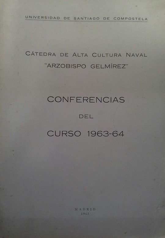 CATEDRA DE ALTA CULTURA NAVAL ARZOBISPO GELMIREZ