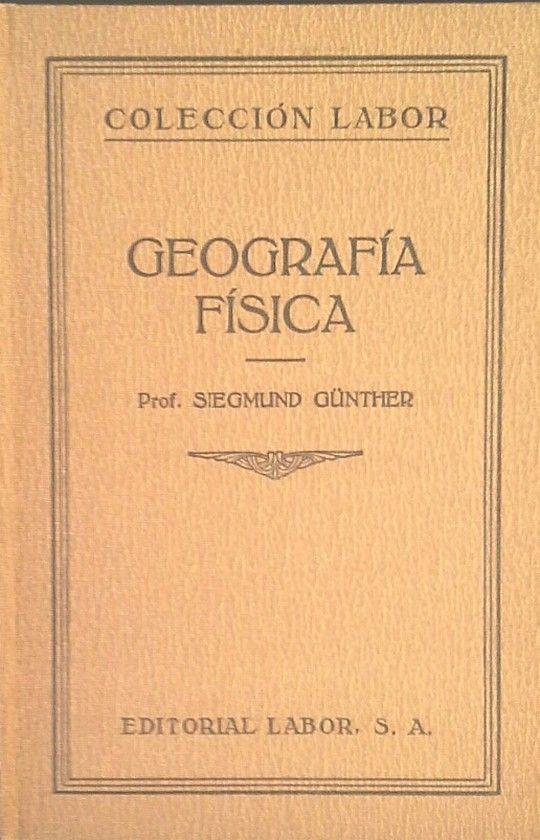 GEOGRAFÍA FÍSICA