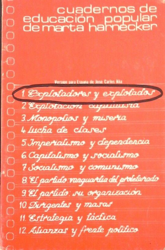 EXPLOTADORES Y EXPLOTADOS
