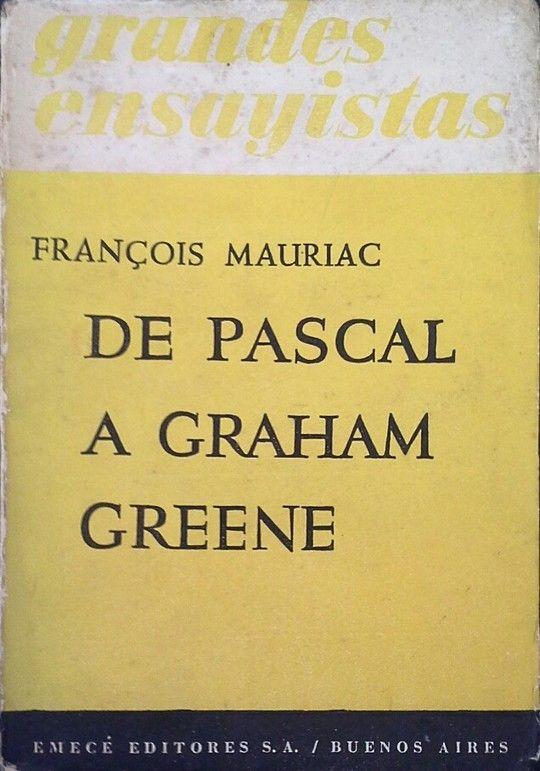 DE PASCAL A GRAHAM GREENE
