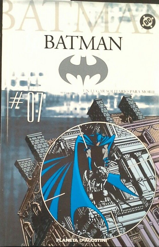 COLECCIONABLE BATMAN Nº 7 - UN LUGAR SOLITARIO PARA MORIR