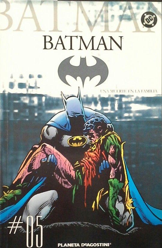COLECCIONABLE BATMAN Nº 5 - UNA MUERTE EN LA FAMILIA