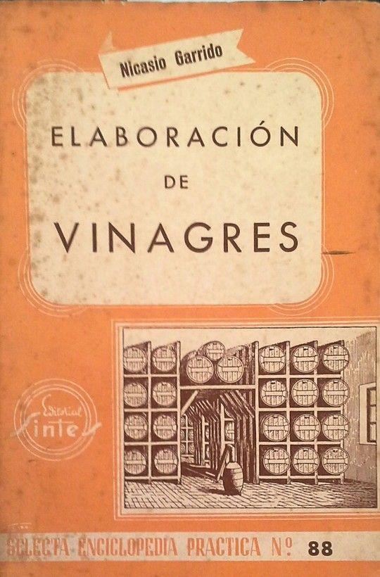 ELABORACIÓN DE VINAGRES