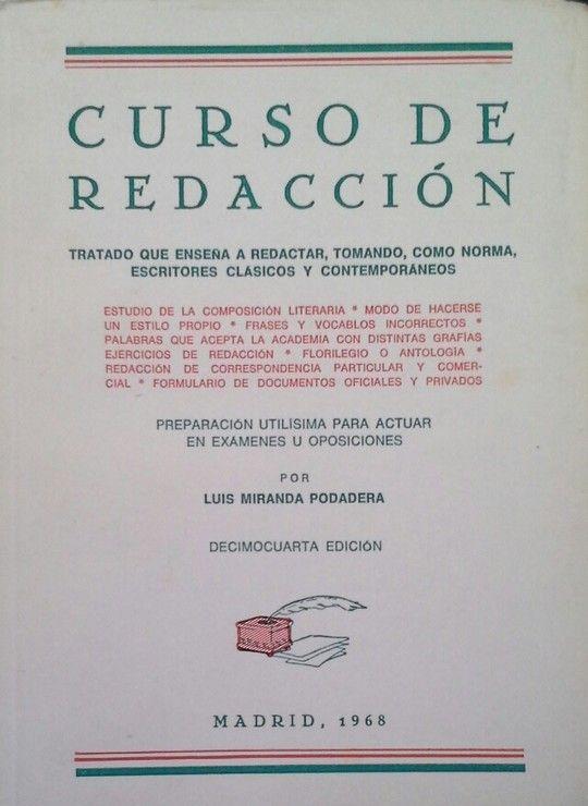 CURSO DE REDACCIÓN