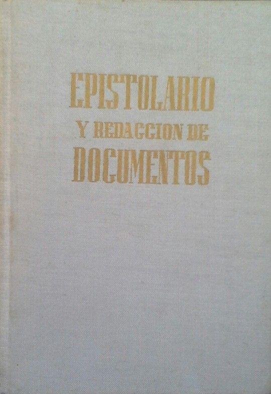 EPISTOLARIO Y REDACCIÓN DE DOCUMENTOS