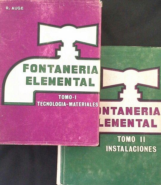 FONTANERÍA ELEMENTAL - DOS TOMOS