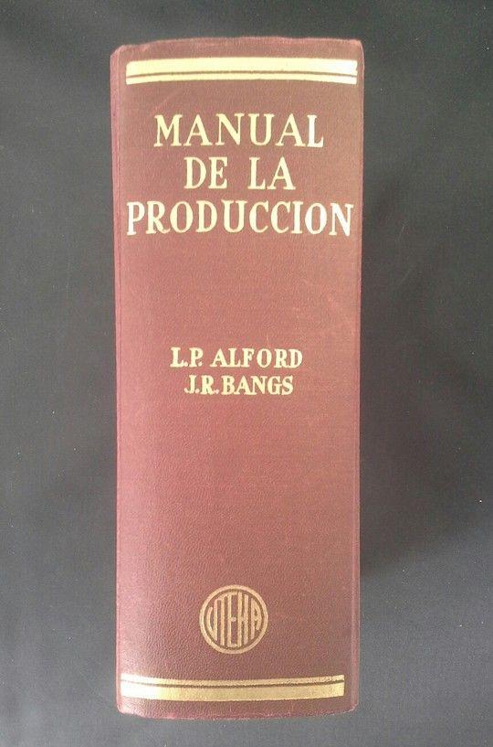 MANUAL DE LA PRODUCCIÓN