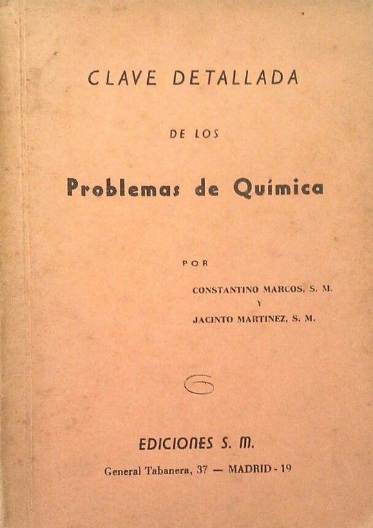 CLAVE DETALLADA DE LOS PROBLEMAS DE QUÍMICA