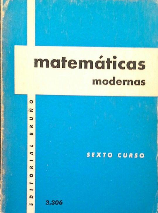 MATEMÁTICAS MODERNAS - SEXTO CURSO