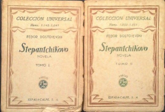 STEPANTCHIKOVO TOMOS I Y II
