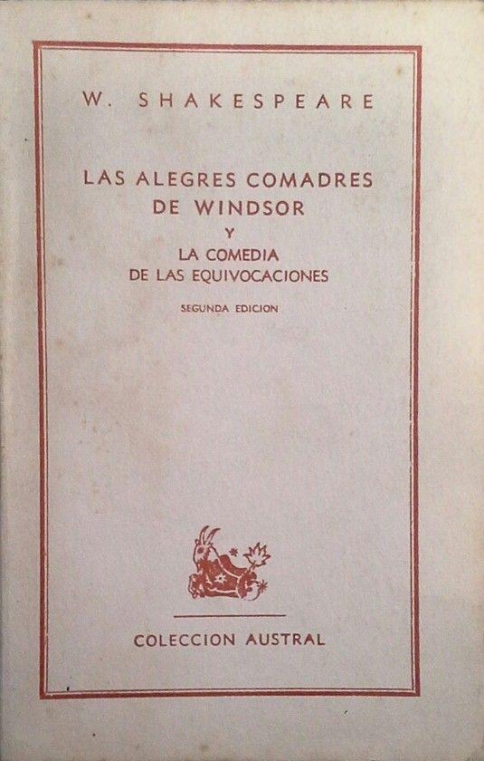 LAS ALEGRES COMADRES DE WINDSOR - LA COMEDIA DE LAS EQUIVOCACIONES