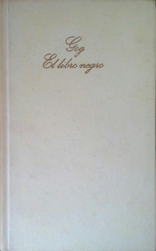 GOG - EL LIBRO NEGRO