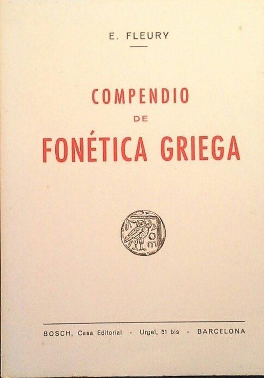 COMPENDIO DE FONÉTICA GRIEGA
