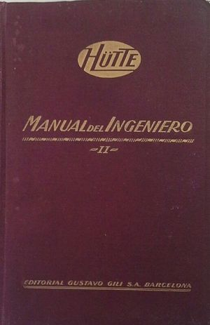 MANUAL DEL INGENIERO - TOMO II