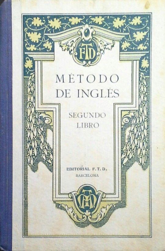 MÉTODO DE INGLÉS - SEGUNDO LIBRO