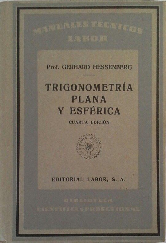 TRIGONOMETRÍA PLANA Y ESFÉRICA
