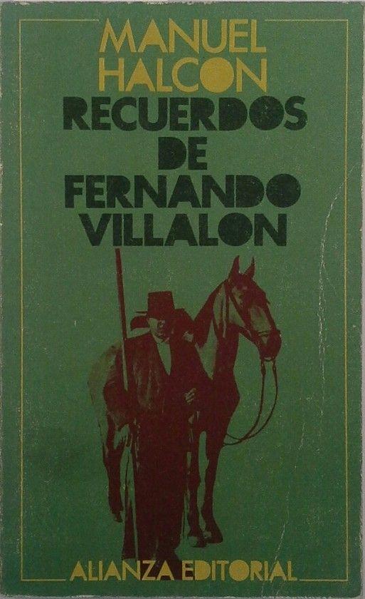 RECUERDOS DE FERNANDO VILLALÓN