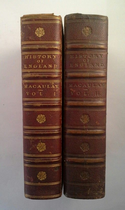 THE HISTORY OF ENGLAND - VOLS. I AND II