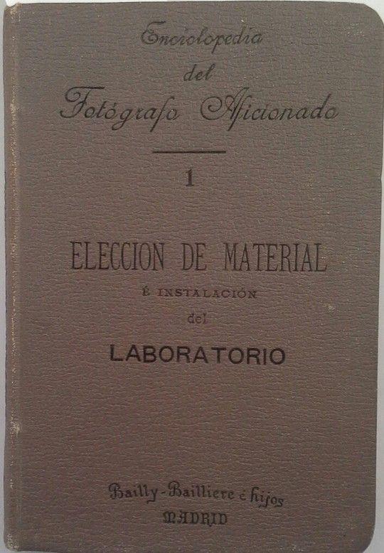 ELECCIÓN DEL MATERIAL E INSTALACIÓN DEL LABORATORIO