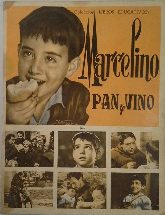 MARCELINO PAN Y VINO - HISTORIA Y ÁLBUM DE CROMOS DE LA PELÍCULA (COMPLETO)