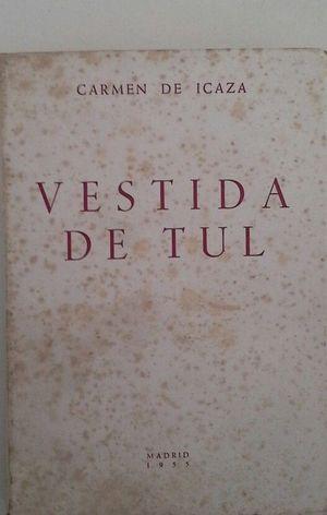 VESTIDA DE TUL