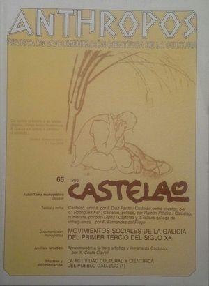 ANTHROPOS (REVISTA DE DOCUMENTACIÓN CIENTÍFICA DE LA CULTURA) 65 1986