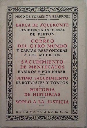 BARCA DE AQUERONTE - CORREO DEL OTRO MUNDO - SACUDIMIENTO DE MENTECATOS - ÚLTIMO