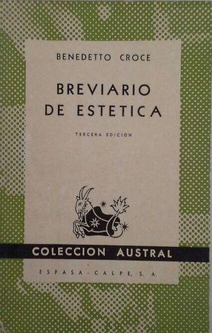 BREVIARIO DE ESTÉTICA