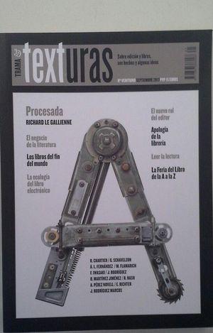 REVISTA TRAMA & TEXTURAS - Nº VEINTIUNO - SEPTIEMBRE DE 2013