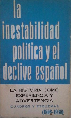 LA INESTABILIDAD POLÍTICA Y EL DECLIVE ESPAÑOL (1808-1936) - LA HISTORIA COMO EX