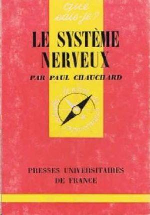 LE SYSTÉME NERVEUX
