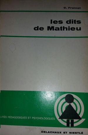 LES DITS DE MATHIEU