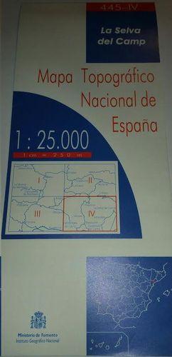 LA SELVA DEL CAMP 445-IV  1:25000