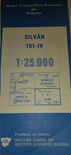 SILVAN 191 IV  1:25000