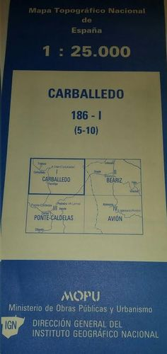 CARBALLEDO 186-I ( 5-10) 1:25000