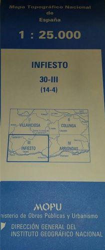 INFIESTO 30-III (14-4).  1:25000
