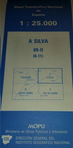 A SILVA 69-II  ( 8-11)  1:25000