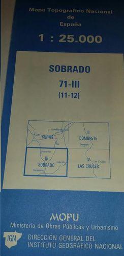 SOBRADO 71-III  (11-12).  1:25000