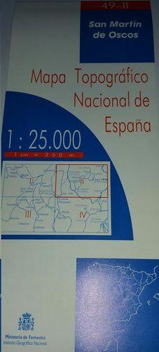 SAN MARTIN DE OSCOS 49-II  1:25000