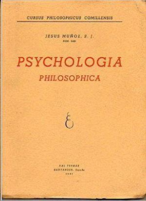 PSYCHOLOGYA PHILOSOPHICA