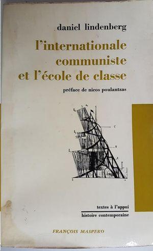 L´INTERNATIONALE COMMUNISTE ET L´ECOLE DE CLASSE