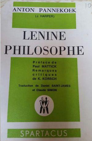 LENINE PHILOSOPHE