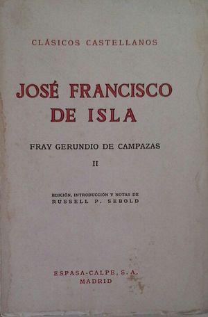 FRAY GERUNDIO DE CAMPAZAS - VOL II